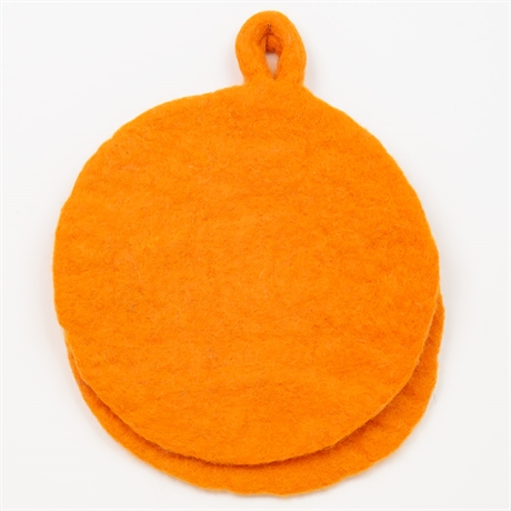 FELT Grytlapp, orange